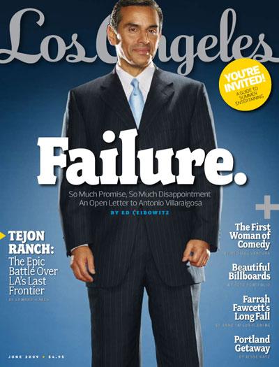 LA Magazine Villaraigosa Failure