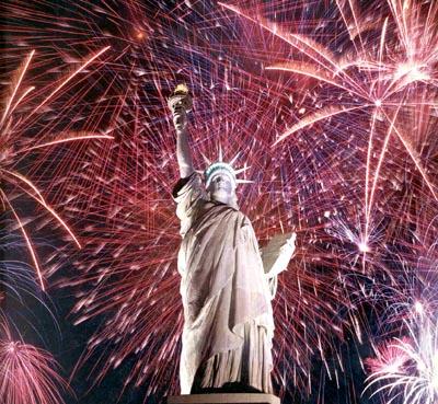 Liberty--Fireworks
